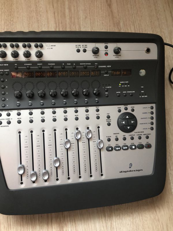 Pro-tools controller mixer