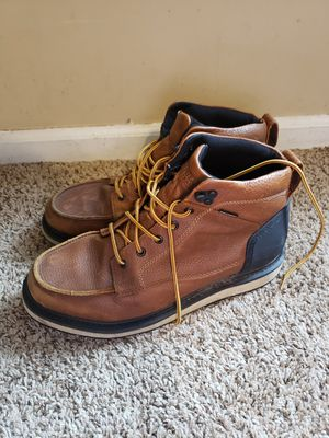 Duluth work boots for men size 12 for Sale in Hiram, GA