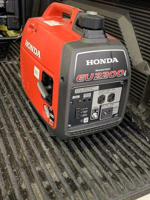 HONDA EU2200I GENERATOR for Sale in Galt, CA