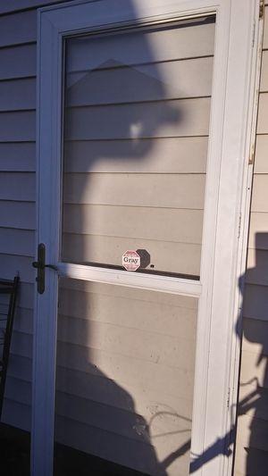 32×80 storm door for Sale in Raleigh, NC