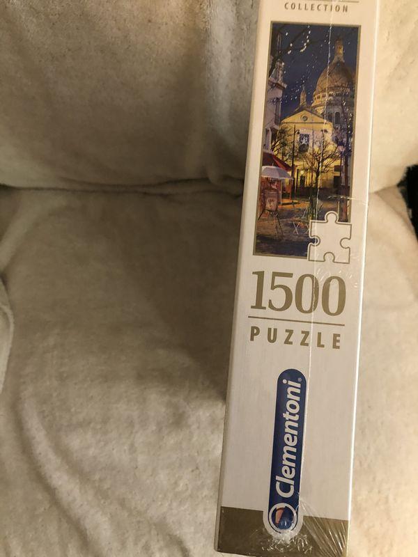 Clementoni Paris, Montmartre 1500 Piece Jigsaw Puzzle