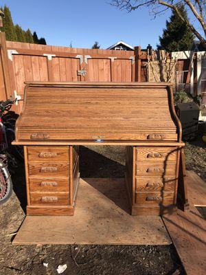 Antique roll top desk for Sale in Seattle, WA