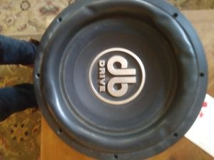 """DB Drive 12"""" subwoofer for Sale in Columbus, OH"""