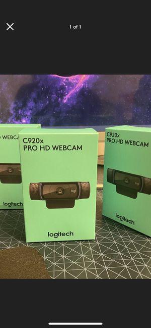 Brand new Logitech C920x Pro HD Webcam 1080p XSplit for Sale in Anaheim, CA