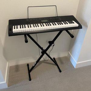 USED CASIO CTK3200 Piano for Sale in Sunnyvale, CA
