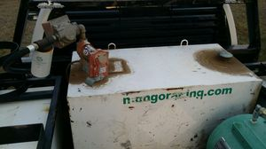 100 gallon fuel transfer tank, pneumatic grease pump for Sale in Alpine, AZ