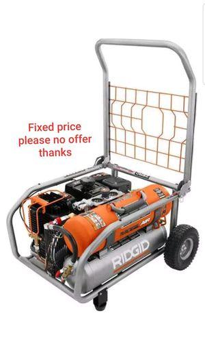 RIDGID 8-Gal. Gas-Powered Air Compressor, GP80150RT, (Subaru commercial duty engine) for Sale in Upper Marlboro, MD