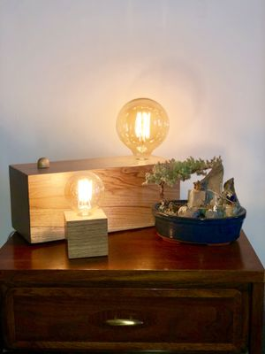 Custom Table Lamp by Ken Read for Sale in New York, NY