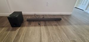 Sony Soundbar and Subwoofer for Sale in Clovis, CA