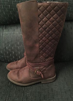 Leather Boots size 5 girls for Sale in Lacey, WA