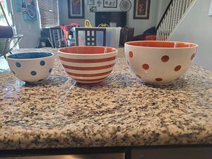 Serving Bowls. for Sale in Rancho Santa Margarita, CA