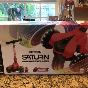 Jetson Saturn 3 Wheel Light-up Folding Scooter BRAND NEW for Sale in Hollywood, FL