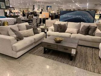 Living Room Set by Ashley| Beige | Sofa and Loveseat | Financing Options$39 Down for Sale in Irving,  TX