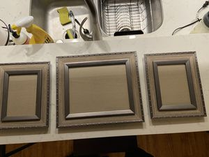 Set of 3 picture frames for Sale in Los Angeles, CA