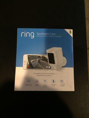 Ring Spotlight Cam for Sale in Middletown, MD