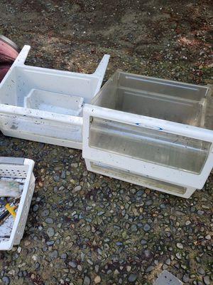 Fridge drawers, metal slat wall inserts etc. for Sale in Issaquah, WA