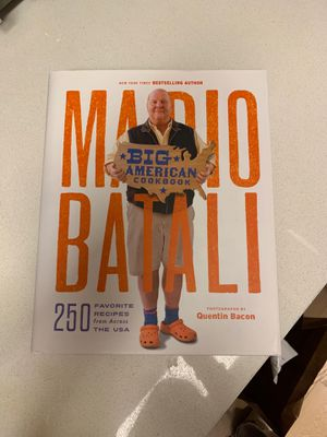 Mario Batali Big American Cookbook for Sale in New York, NY