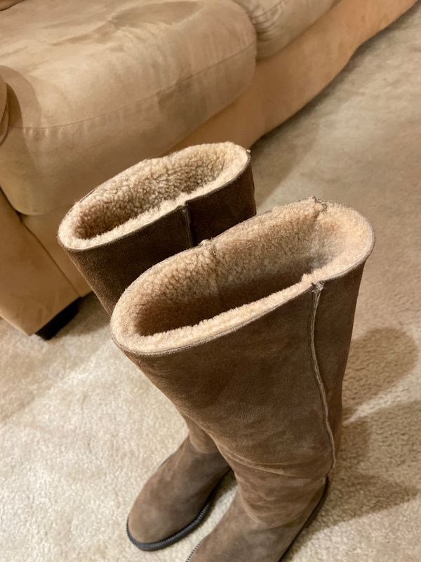 Brand new coach boots & furry inside