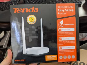 Tenda wifi router for Sale in Austin, TX
