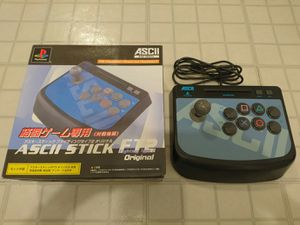ASCII Stick FT2 Original for PlayStation PS1 PS One PS2 for Sale in San Francisco, CA