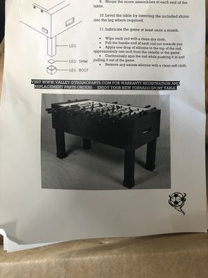 Used, Foosball Table for Sale for sale  Queens, NY