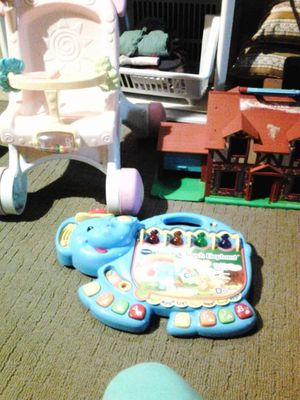 Kids toys Fisher Price house stroller v-tech touch & teach elephant for Sale in Collingdale, PA