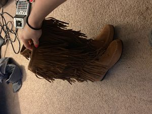 Fringe Boots for Sale in Irmo, SC