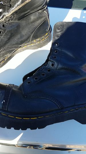 Old school Dr. Martens steel toed boots for Sale in Anaheim, CA