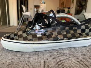 Vans checkerboard clear super rare size 9 supreme for Sale in San Diego, CA