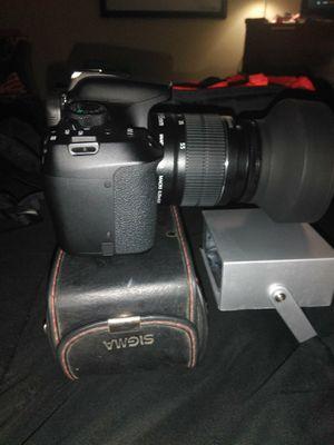 Canon w/ Lenses & Accessories for Sale in Riverdale, GA