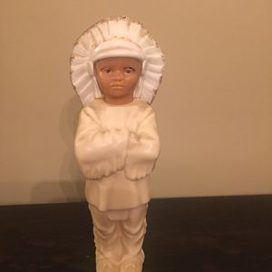 "5.5"" Celluloid Indian Chief Native American Boy Doll Toy Molded Plastic for Sale in Pittsburgh, PA"