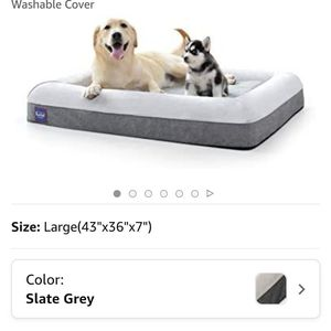Laifug orthopedic memory foam dog bed (large) for Sale in Santa Monica, CA