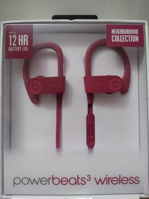 Beats Powerbeats 3 Wireless Earbuds Neighborhood Collection for Sale in Midlothian, IL