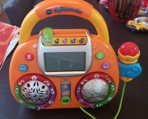 Vtech kidi karaoke machine