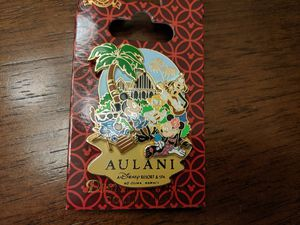 Disney Aulani resort and spa pin featuring Mickey mouse, Minnie mouse, Donald duck, Goofy and Stitch for Sale in Glendale, AZ