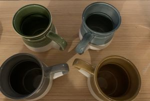World Market Ceramic Mugs (set of 4) for Sale in Oakland, CA