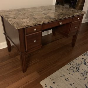 """Executive Desk With Marble Top - """"Montibello"""" Desk for Sale in Rockville, MD"""
