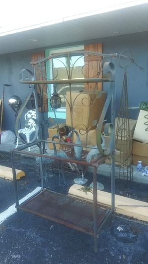 3 Level Wrought Iron Plant Holder for Sale in Orlando, FL
