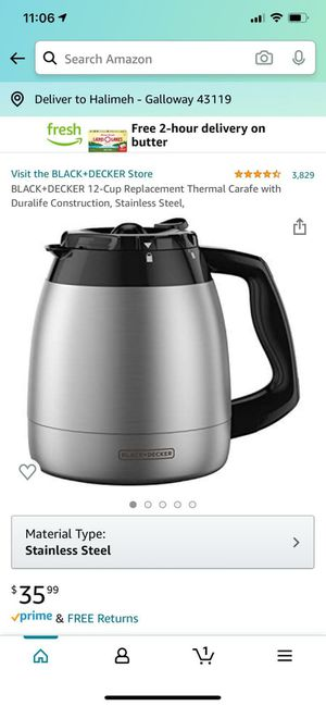 Coffee pot for Sale in Columbus, OH