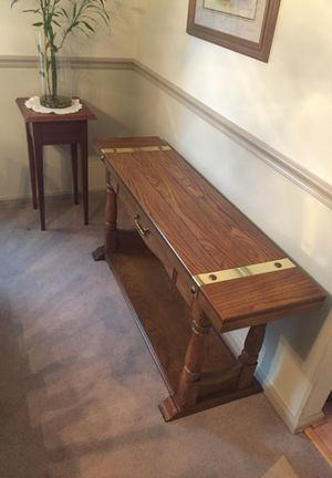 Solid wood luxury Console table for Sale in Manassas, VA