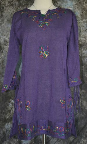 BRAND NEW HANDMADE EMBROIDERED BOHO/HIPPIE TUNIC SIZES M/L/XL for Sale in Chardon, OH