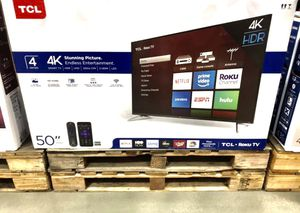 """🔥50"""" TCL 4K HDR SMART TV ROKU for Sale in Grand Terrace, CA"""