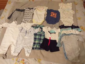 Baby boy clothes (0-3 month) for Sale in Boyds, MD