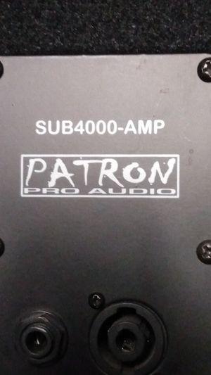 Patron pro audio for Sale in El Centro, CA