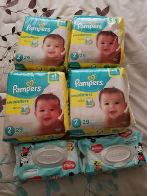 Diaper baby bundle for Sale in Roman Forest, TX