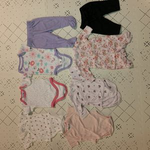 Baby girl 0-3 month clothing bundle for Sale in Detroit, MI