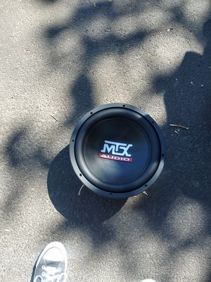 1: 12' mtx competition speaker and 1: 12' Jbl Power series speaker sold seperate or together. for Sale in Richland, WA