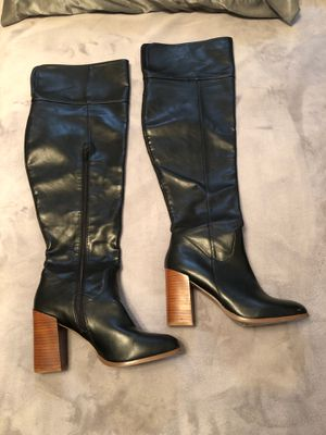 Forever 21 Thigh high leather boots for Sale in Webster, TX