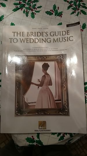 Wedding music book for Sale in Appomattox, VA