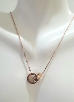 Cartier love pendant necklace rose gold for Sale in Austin, TX